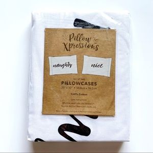 Naughty & Nice Pillowcase Pillow Xpressions